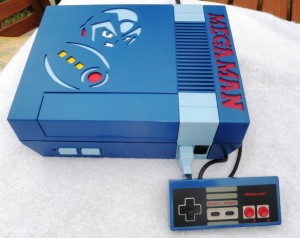 Mega Man NES Top with Controller