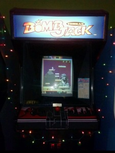 Bomb Jack Arcade machine with new Marquee